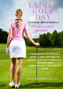 Ladies Golf Flyer